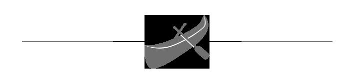 Ikon för att hyra en kanot på Utö