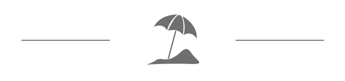 En ikon som visar ett parasoll och stränder på Utö